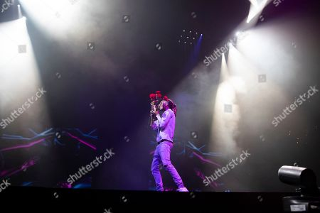 Editorial image of Post Malone in Concert - , D.C., Washington, USA - 12 Oct 2019