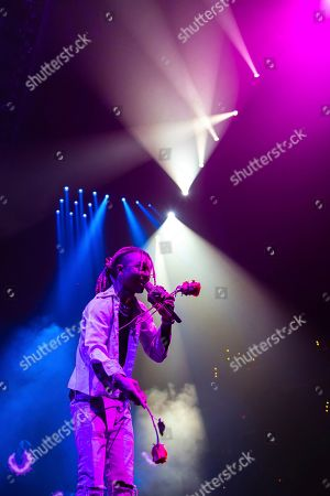 Editorial picture of Post Malone in Concert - , D.C., Washington, USA - 12 Oct 2019