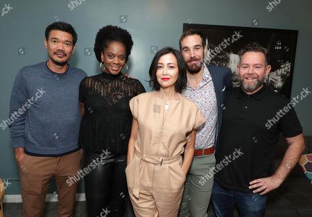 Director Destin Cretton, Karan Kendrick, Casting Director Carmen Cuba, Editor Nat Sanders and Producer Asher Goldstein