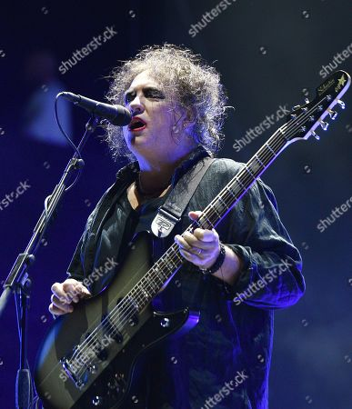 Stock Image of The Cure - Robert Smith
