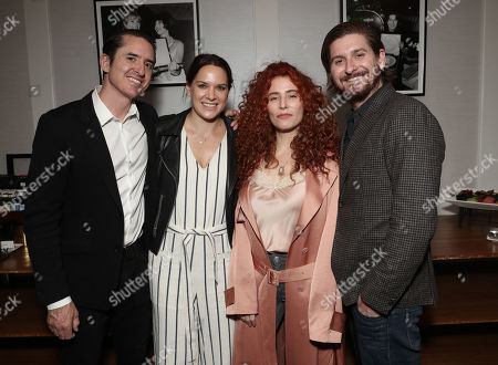 Producer Brian Kavanaugh-Jones, Amazon Studio Co-Head of Movies Julie Rapaport, Director Alma Har'el and Producer Christopher Leggett