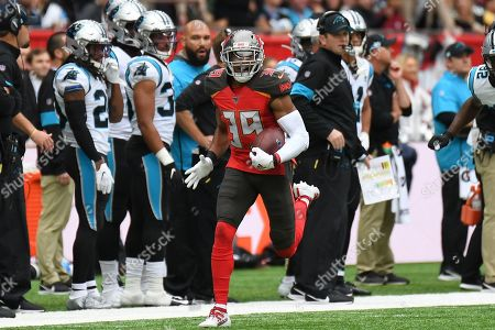 Editorial picture of Tampa Bay Buccaneers v Carolina Panthers, International Series - 13 Oct 2019