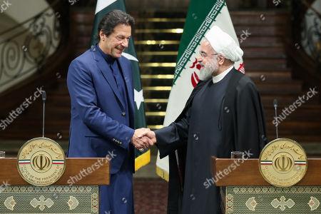 Editorial picture of Pakistani Prime Minister Imran Khan is in Tehran, Iran (Islamic Republic Of) - 13 Oct 2019