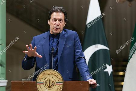 Editorial image of Pakistani Prime Minister Imran Khan is in Tehran, Iran (Islamic Republic Of) - 13 Oct 2019