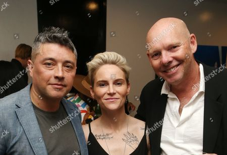 Stock Image of George Valencia, Jessica Fishlock, Guest