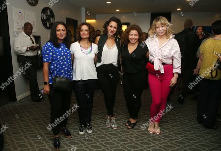 Stock Photo of Parminder Nagra, Judy Reyes, Justina Machado, Katherine Castro