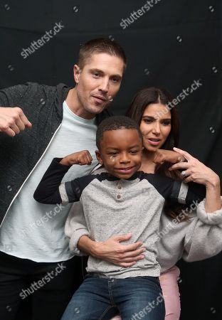 Stock Picture of Roselyn Sanchez, Eric Winter