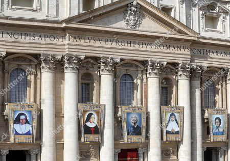 Editorial picture of Canonization Mass of five new Saints Five new Saints canonized at the Vatican, Vatican City, Vatican City State (Holy See) - 13 Oct 2019