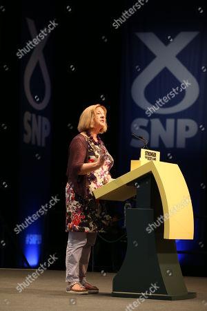 Stock Image of Linda Fabiani, Deputy Presiding Officer of The Scottish Parliament