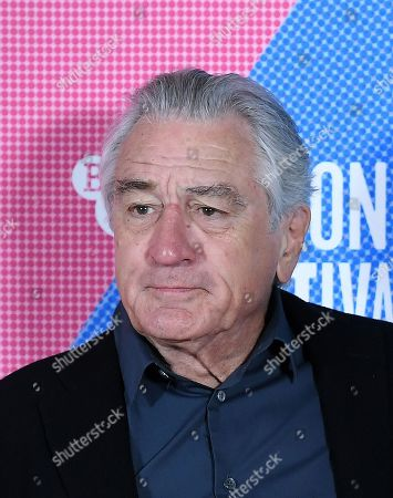 Robert DeNiro poses at the photocall for the film premier of 'The Irishman' during the BFI London Film Festival, in London, Britain, 13 October 2019. The British Film Institute festival runs from 02 to 13 October.
