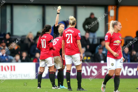 Editorial image of Tottenham Hotspur Women vs Manchester United Women, Barclays FA Women's Super League, Football, The Hive Stadium, London, Greater London, United Kingdom - 13 Oct 2019