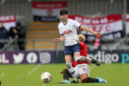 Editorial picture of Tottenham Hotspur Women vs Manchester United Women, Barclays FA Women's Super League, Football, The Hive Stadium, London, Greater London, United Kingdom - 13 Oct 2019