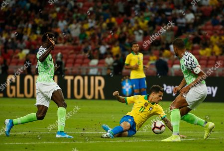 Editorial photo of Brazil vs Nigeria, Singapore - 13 Oct 2019