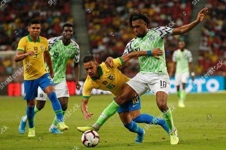 Editorial picture of Brazil vs Nigeria, Singapore - 13 Oct 2019