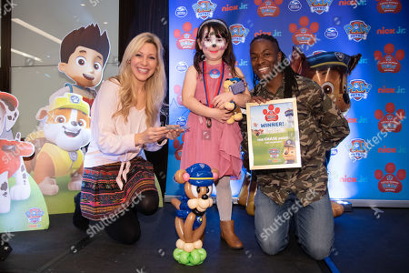 Editorial photo of PAW Patrol Little Heroes Paw Awards, London, UK - 13 Oct 2019