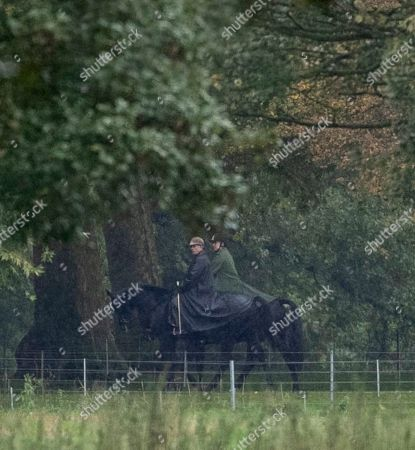 Editorial photo of Prince Andrew at Windsor Castle, Berkshire, UK - 13 Oct 2019