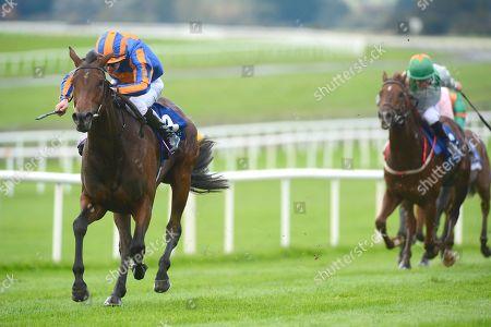 Stock Picture of Curragh. TANGO and Donnacha O'Brien win for trainer Aidan O'Brien.