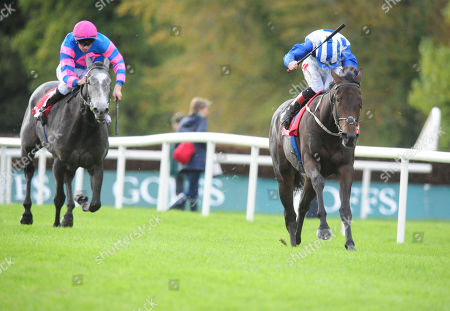 Stock Picture of LIMERICK LEMISTA and Colin Keane (right) win the Thomastown Fillies Median Auction Maiden from Gin Blossom (left). Healy Racing