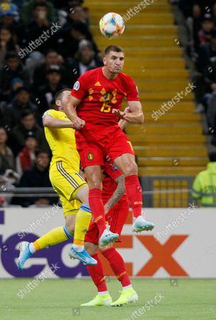 Editorial photo of Belgium Euro 2020 Soccer, Nur-Sultan, Kazakhstan - 13 Oct 2019