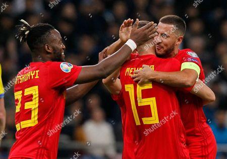 Editorial image of Belgium Euro 2020 Soccer, Nur-Sultan, Kazakhstan - 13 Oct 2019