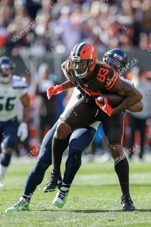 Editorial image of Seahawks Browns Football, Cleveland, USA - 13 Oct 2019