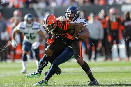 Editorial photo of Seahawks Browns Football, Cleveland, USA - 13 Oct 2019