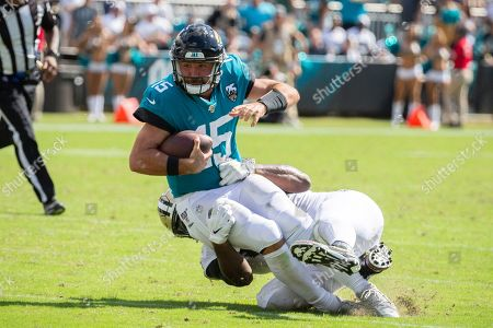 Editorial picture of Saints Jaguars Football, Jacksonville, USA - 13 Oct 2019