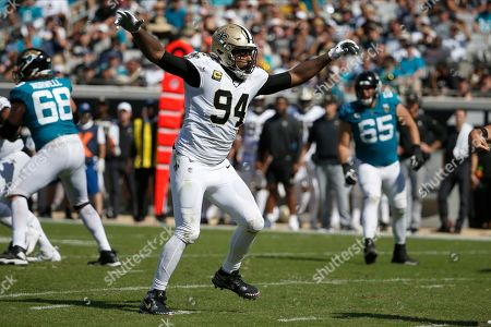 Editorial photo of Saints Jaguars Football, Jacksonville, USA - 13 Oct 2019