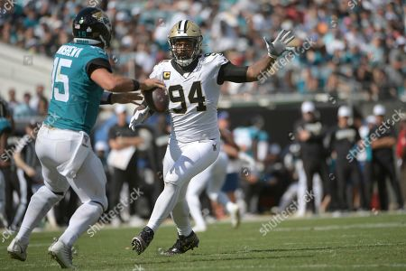 Editorial image of Saints Jaguars Football, Jacksonville, USA - 13 Oct 2019