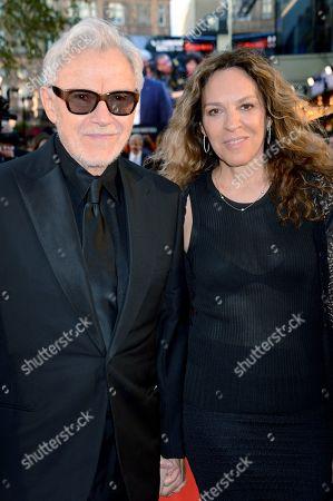 Stock Photo of Harvey Keitel and Daphna Kastner