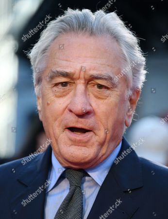 Robert DeNiro arrives for the premiere of the movie 'The Irishman' at the 2019 BFI London Film Festival, in London, Britain, 13 October 2019. The British Film Institute festival runs from 02 to 13 October.