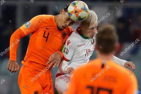 Editorial image of Netherlands Euro 2020 Soccer, Minsk, Belarus - 13 Oct 2019