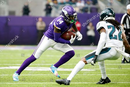 Editorial photo of Eagles Vikings Football, Minneapolis, USA - 13 Oct 2019