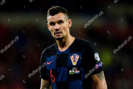 Stock Photo of Dejan Lovren of Croatia