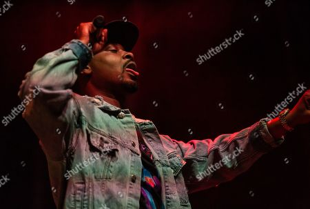 Stock Picture of Danny Brown