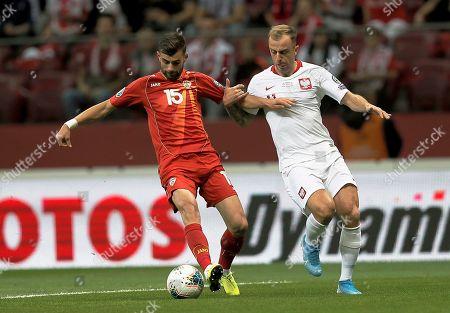 Editorial photo of Poland vs North Macedonia, Warsaw - 13 Oct 2019