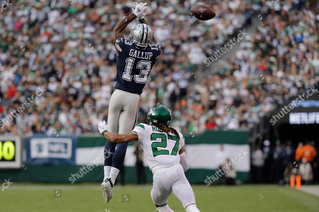 Editorial photo of Cowboys Jets Football, East Rutherford, USA - 13 Oct 2019