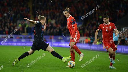 Editorial photo of Wales vs Croatia, Cardiff, United Kingdom - 13 Oct 2019