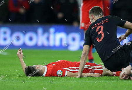 Editorial image of Wales v Croatia - European Championship Qualifiers - Group E - 13 Oct 2019