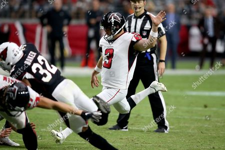 Editorial picture of Falcons Cardinals Football, Glendale, USA - 13 Oct 2019