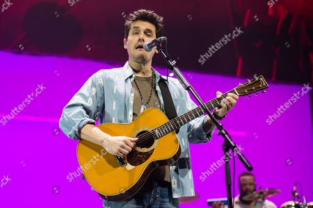 Editorial picture of John Mayer in concert at the O2 Arena in London, UK - 13 Oct 2019