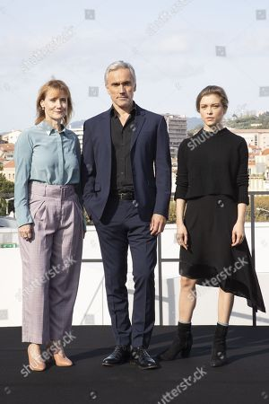 Amanda Coe, writer, Ben Miles, Sophie Cookson