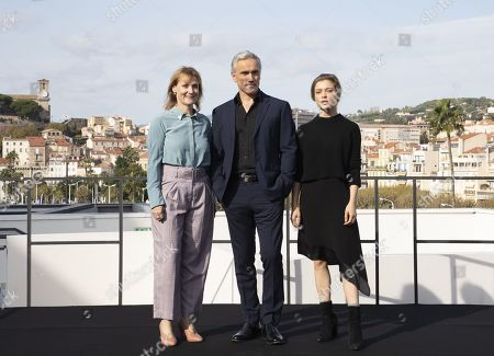 Editorial image of 'The Trial of Christine Keeler' photocall, MIPCOM Cannes, France - 13 Oct 2019