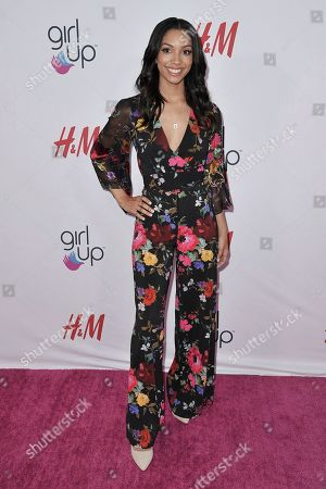 Corinne Foxx attends the 2nd Annual Girl Up Girl Hero Awards at the Beverly Wilshire Hotel, in Beverly Hills, Calif