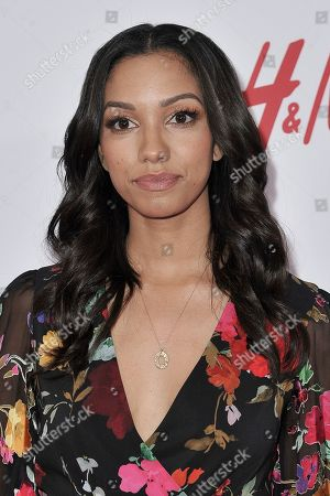 Stock Picture of Corinne Foxx attends the 2nd Annual Girl Up Girl Hero Awards at the Beverly Wilshire Hotel, in Beverly Hills, Calif