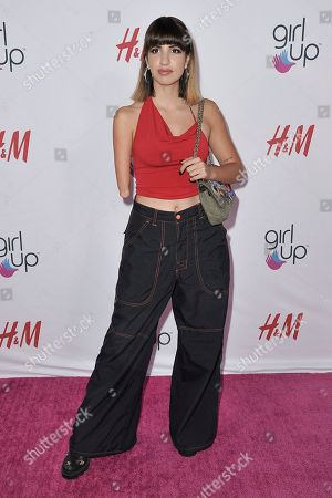 Victoria Canal attends the 2nd Annual Girl Up Girl Hero Awards at the Beverly Wilshire Hotel, in Beverly Hills, Calif