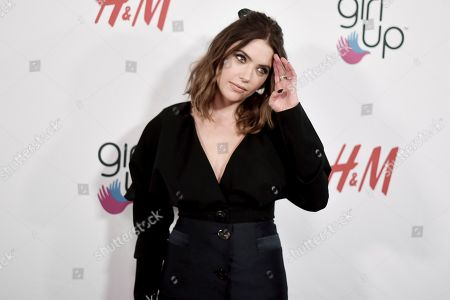 Ashley Benson attends the 2nd Annual Girl Up Girl Hero Awards at the Beverly Wilshire Hotel, in Beverly Hills, Calif