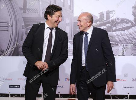 Stock Picture of Laurent Gerra, Gerard Collomb