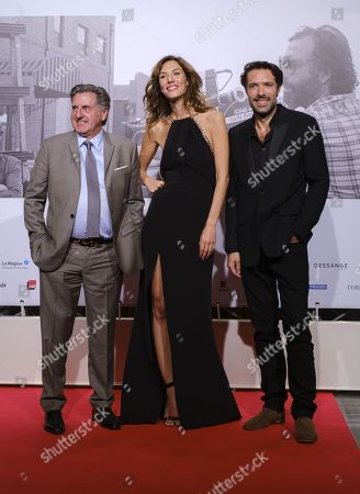 Stock Photo of Daniel Auteuil, Doria Tillier, Nicolas Bedos