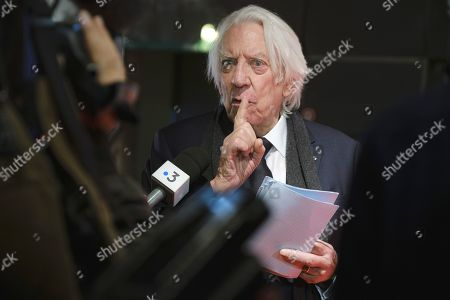 Stock Image of Donald Sutherland